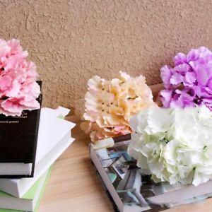 Silk Flower Artificial Flowers Big Hydrangea Flowers Wedding