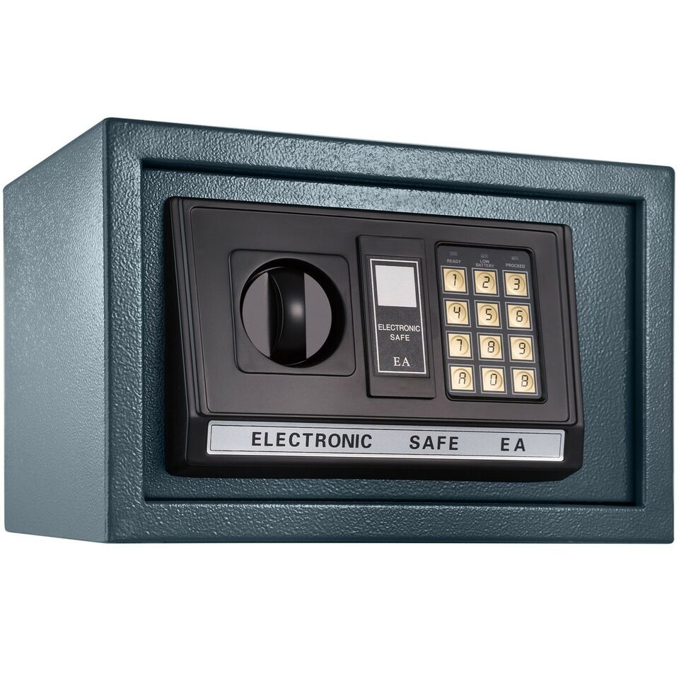 Elektronisk pengeskab 20 x 31 x 22cm + 4...
