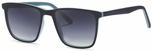 ME/'R HIC Polarized Surfer Dude Black Blue Premium Sunglasses