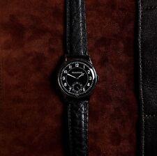 Jaeger LeCoultre Mens Black Dial Steel Vintage Watch cal.P469/A 1940's