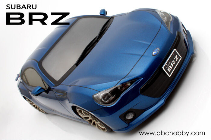 ABC 1 10 Subaru BRZ Coupe On Road 195mm Clear Untrimmed Body  66139 OZRC