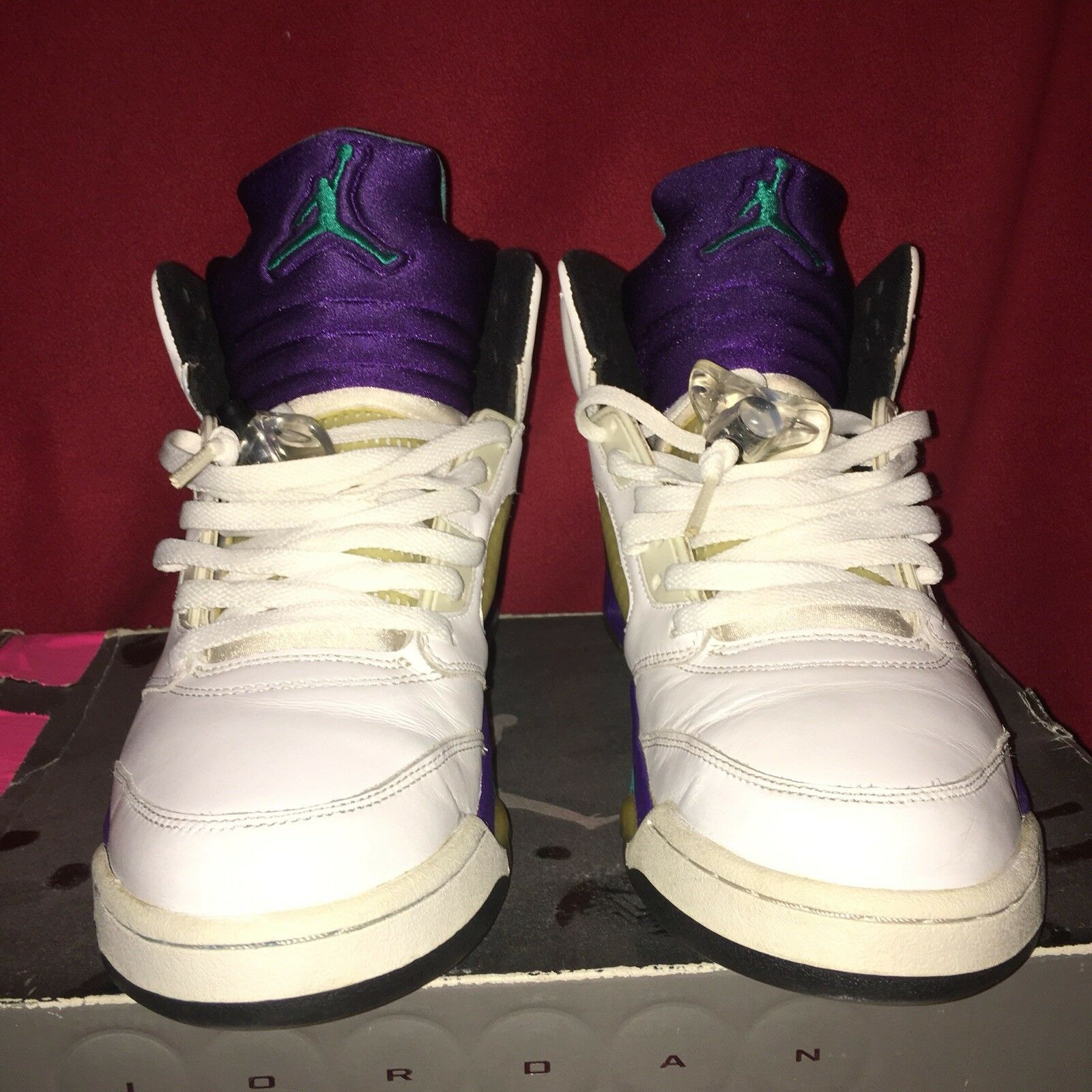Air Jordan 5 Retro White Grape 2006