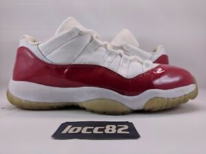 best website 1b2ee 04f07 Image is loading Nike-Air-Jordan-XI-11-Low-White-Varsity-