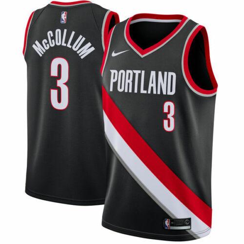 Portland Trail Blazers NBA Men/'s Basketball 3# Jersey McCollum