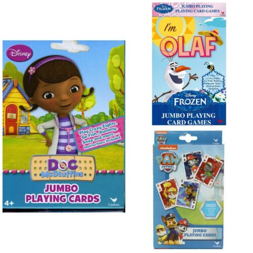 Jumbo Licensed Character Playing Cards Buy 1 Get 1 FREE! Add 2 to Cart
