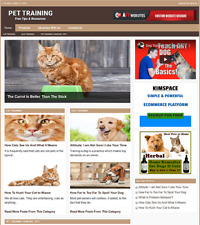 Pet Training Website Business For Sale Work From Home Internet Business