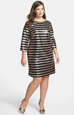 a3f045ca1d70 item 6 Vince Camuto Sequin Stripe Cocktail Dress (size 16W) -Vince Camuto  Sequin Stripe Cocktail Dress (size 16W)