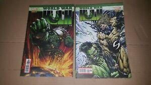 Hulk kämpft # 1 Panini Zustand 1
