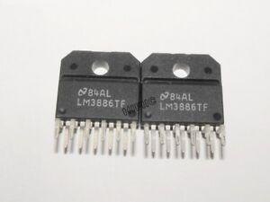 2PCS LM3886TF 68 W Audio Power Amplifier w/Mute