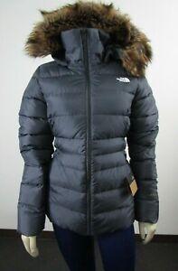 NWT Womens The North Face TNF Gotham Jacket II 550-Down Winter Jacket Caper Grey