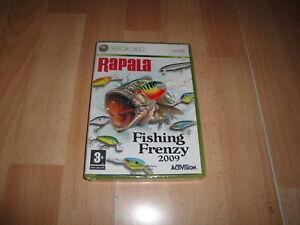 RAPALA-FISHING-FRENZY-2009-DE-ACTIVISION-PARA-LA-XBOX-360-NUEVO-PRECINTADO