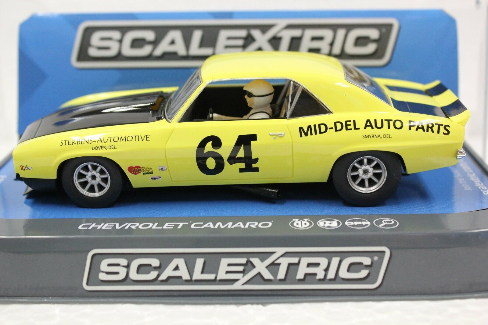 Carrera Digital 132 SEC3724 CHEVROLET CAMARO TRANS AM 1969,  64 1 32 Slot Car