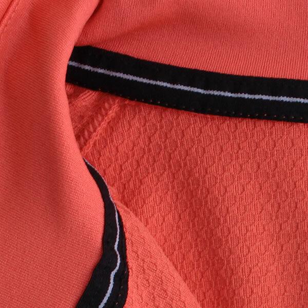 adidas Damen Sportshirt 1/2 Zip Longsleeve Light Langarm Running Shirt coral