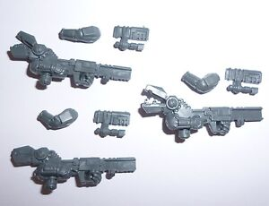 Details about Tau Empire Pathfinder Team Ion Rifles & Arms x 3 – G760