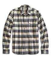 Lucky Brand - - Men's Xl - Sunset Plaid Heavy-weight Cotton 1 Pocket Shirt