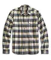 Lucky Brand - - Men's Xl - Sunset Plaid Heavy-weight Cotton 1 Pocket Shirt