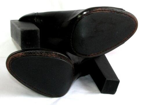 de Kingdom état Shoes 5 13 Talons Cuir veau noir Cm Nude Excellent 38 ZwZar0