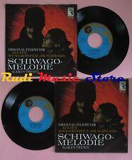 LP 45 7'' MAURICE JARRE Schieago melodie Lara's theme MGM 61 128 no cd mc dvd