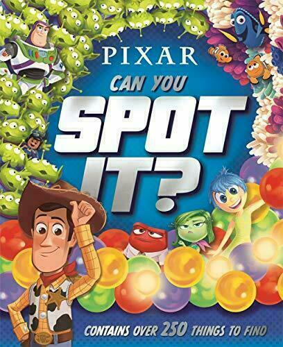 Disney Pixar Can You Spot It Kids Activity Puzzle Book 250 Things To Find