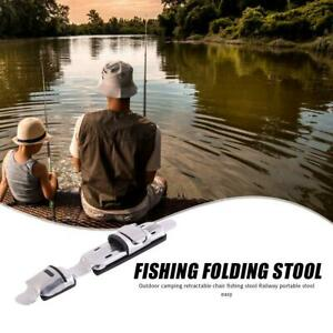 Stainless Steel Fishing Reel Seat Holders Fishing Rod Clips Fish Reel Stand Tool
