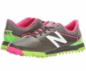 45e44abb6 New Balance Junior Furon 3.0 Dispatch TF Shoe Green/Pink - Size 5 ...