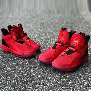 brand new b8b40 2e9f5 Image is loading Nike-Air-Jordan-XXXIII-PF-33-University-Red-