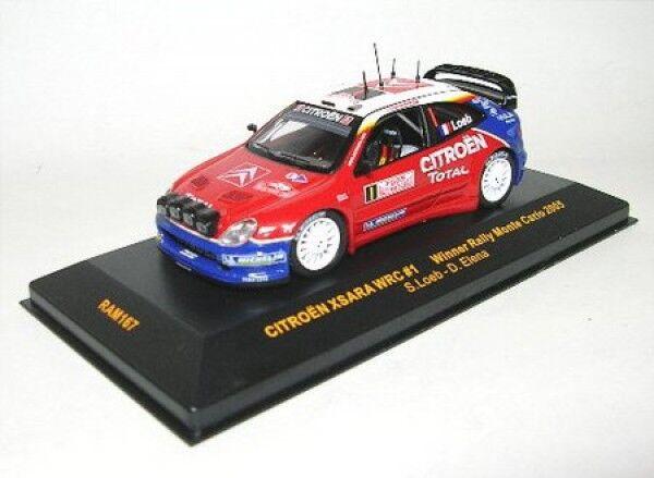 Citroen Xsara WRC no. 1 Winner Rally Monte Carlo 2005 ( S.Loeb - D. Elena )