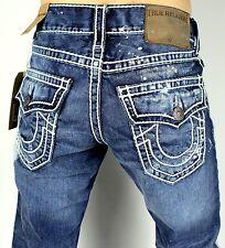 9e49a2067 True Religion Men s 42 Ricky Ropestitch Straight Super T Jeans W42 Mv97ntx5