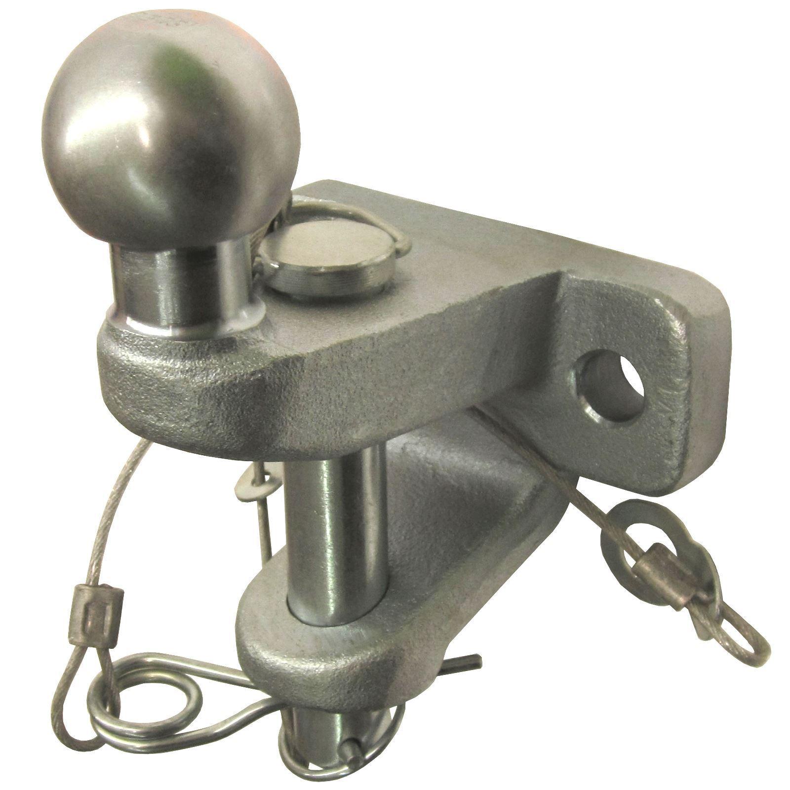 Acero Acero Acero Forjado 50mm remolque de enganche de bola y Pin Barras de acoplamiento para remolque TR036 e0284e