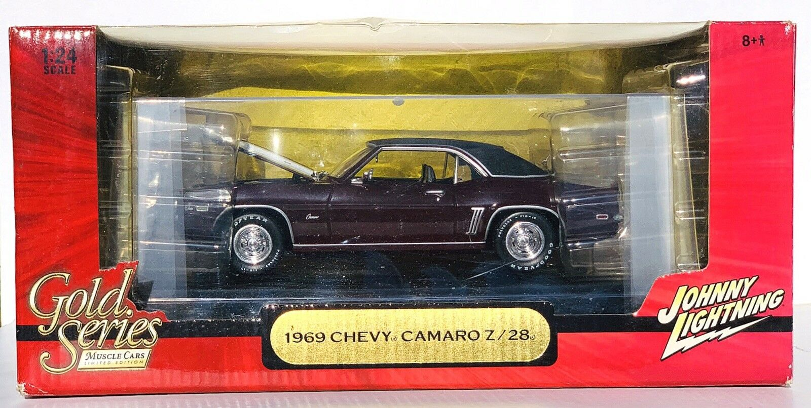 Johnny Lightning 1969 Chevy Camaro Z 28 1 24 Scale or Series