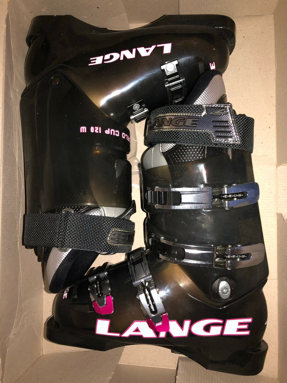 New Lange World Cup 120 W  women's ski boots, women's size 3.5 and 7.5 available  online store