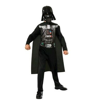 4-6 NWT Rubies Star Wars Darth Vader Deluxe Child Costume Small
