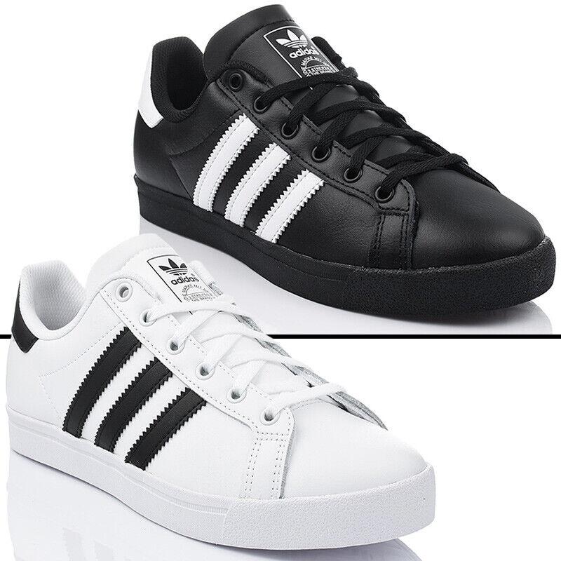 Adidas Coast Star J Turnchaussures chaussures femmes chaussures De Sport En Cuir Originals NEUF