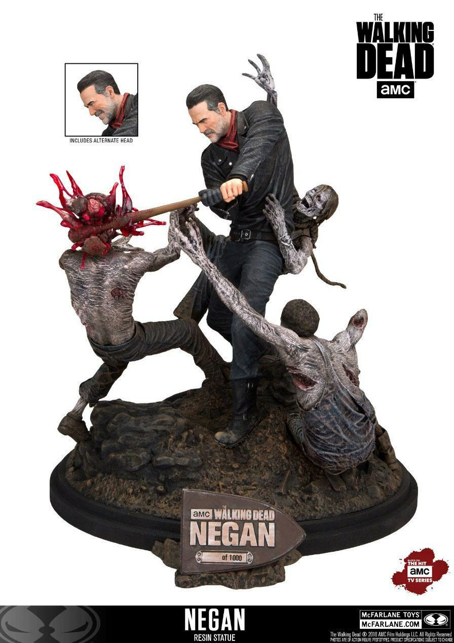The Walking Dead  Negan Edición (Lim. 1.000) 12″ Statue Mcfarlane Juguetes