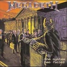 The System Has Failed by Megadeth (CD, Jul-2009, Sanctuary (USA))