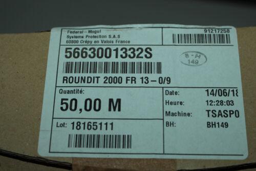 Federal Mogul 5663001332S  Roundit 2000 Fr 13-0//9 Flame Resistant Cable Wrap