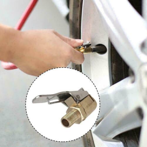 8MM Car Air Pump Nozzle Adapter Truck Tire Inflator He Clip Valve K8V5 G1J9