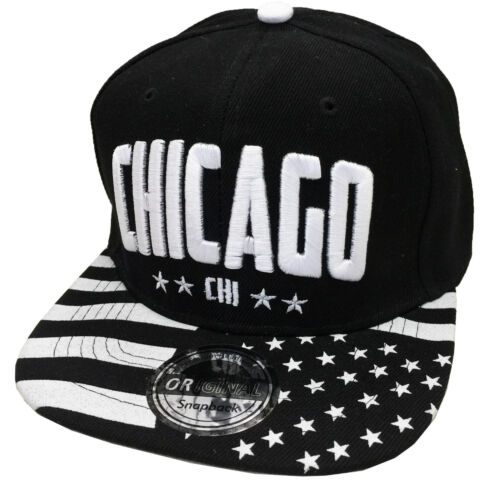Snapback USA Baseball Cap Hat Hip Hop Cool Trucker Sports Cappy with Selection