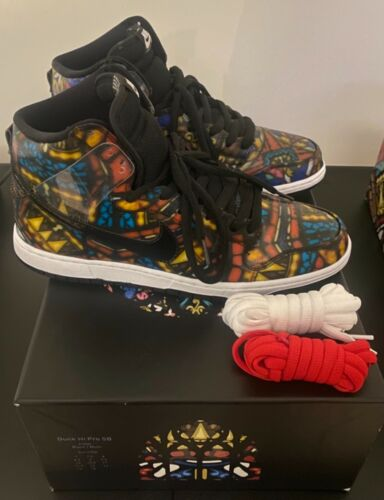 nike sb dunk stained glass
