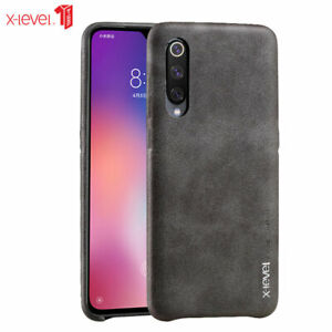 more photos 24588 23936 Details about Original X-LEVEL Vintage PU Leather Case For Xiaomi Mi 9 SE  Slim Soft Back Cover