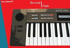 *** ROLAND ALPHA JUNO 1 & 2 - Survival Pack - NEW STUDIO PATCHES / SOUNDS