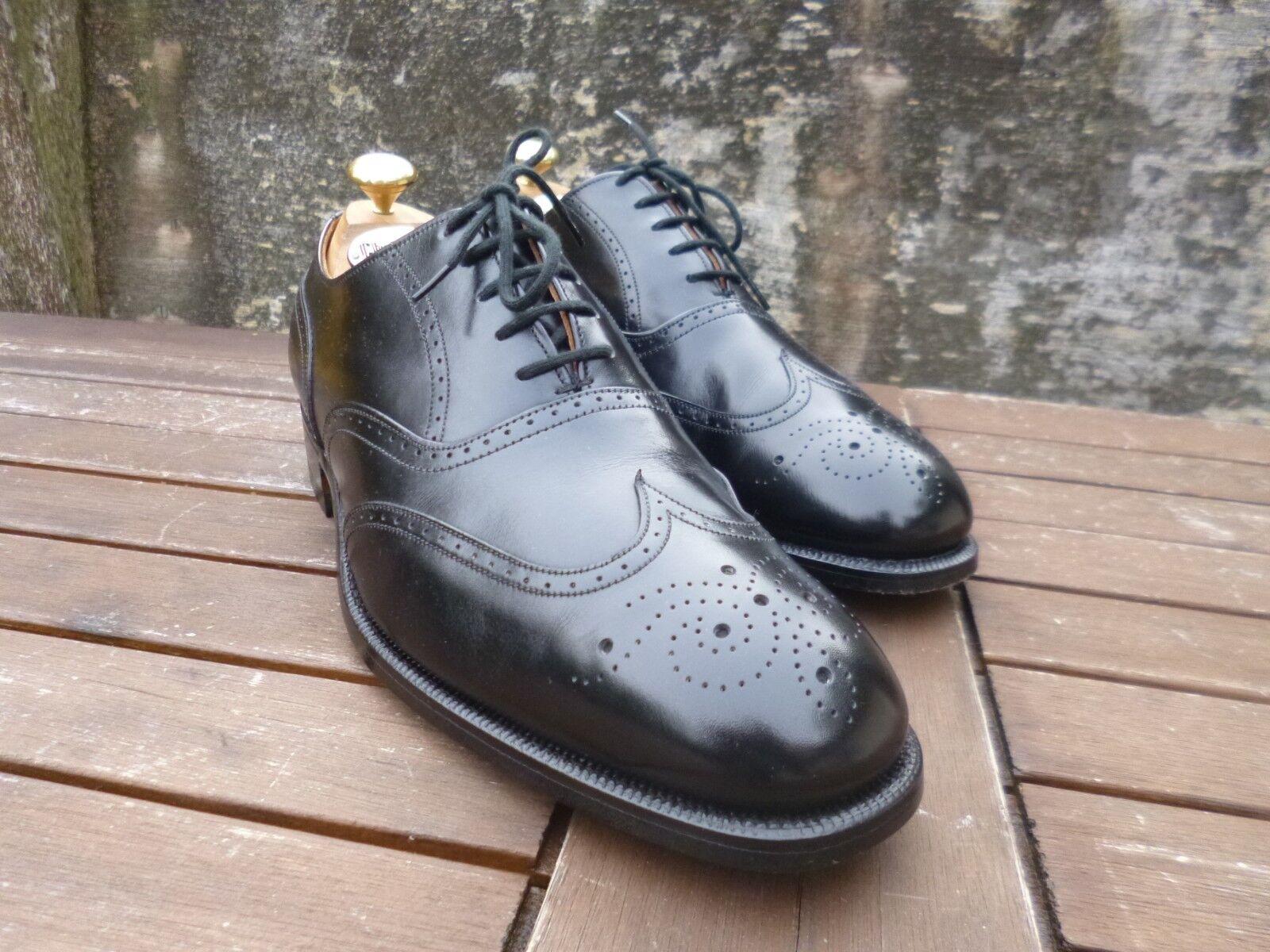 CHEANEY vintage brogues – Nero – THURLOW-– indossata una volta