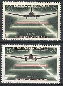 FRANCE-STAMP-TIMBRE-1196-034-AEROPOSTALE-20F-5F-VARIETE-COULEUR-034-NEUF-xx-SUP-M36A