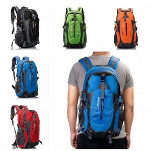 40L-Outdoor-Sports-Day-packs-Waterproof-Luggage-Travel-Hiking-Rucksack-Bag