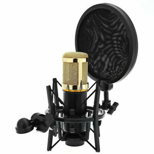 Universal-Studio-Sound-Recording-Microphone-Mic-Shock-Mount-Clip-Clamp-Holder