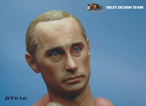 NEW 1//6 Russia/'s President Vladimir Putin HEADPLAY Tough guy BELET
