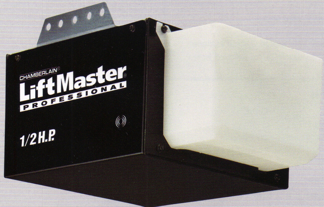 Superb LiftMaster 1355 Garage Door Opener 1/2 HP Chain Drive W/O Rail