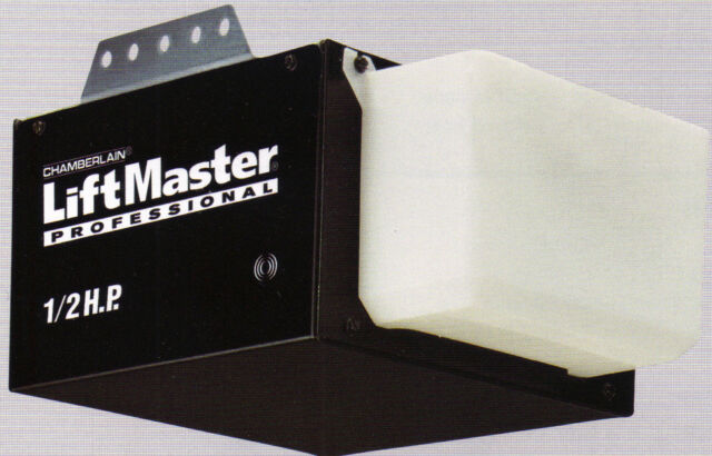 Liftmaster 1355 12hp Chain Drive Garage Door Opener Without Rail Ebay