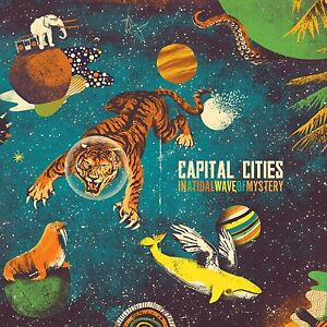 CAPITAL-CITIES-IN-A-TIDAL-WAVE-OF-MYSTERY-CD-13-TITRES-2013-NEUF-NEW-NEU