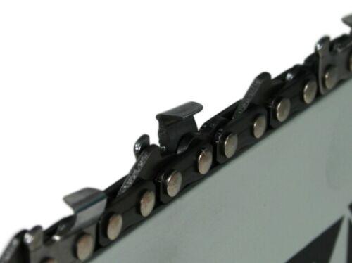 50cm Schiene 3//8 2 Ketten für Stihl MS 361 MS341 MS361 guide bar chain